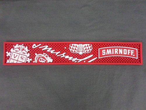 Smirnoff Vodka Professional Series Bar Rail Runner Drip Mat