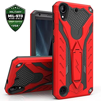 HTC Desire 530 Case, Zizo [Static Series] Shockproof [Military Grade Drop Tested] with Kickstand [HTC Desire 530 Heavy Duty Case] Impact Resistant