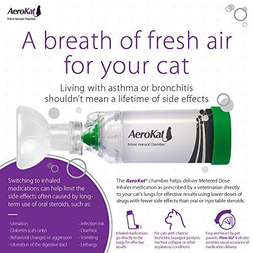 AeroKat Feline Aerosol Chamber for Cats