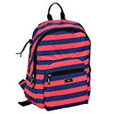 SCOUT Big Draw Backpack School Bag, Interior Laptop Sleeve, Padded & Adjustable Straps, Water Resistant, Zips Closed, Red Rover