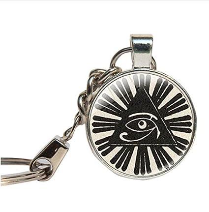 Mystic ojo de Horus egipcio de llavero llavero. Joyas ...