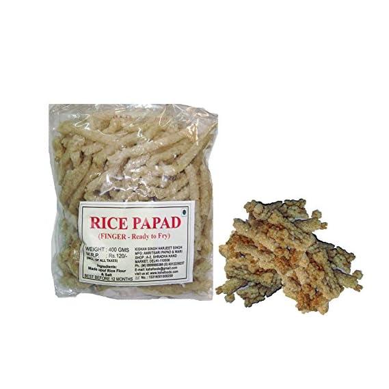 Jeet Rice Papad (Fingers) - 400gm