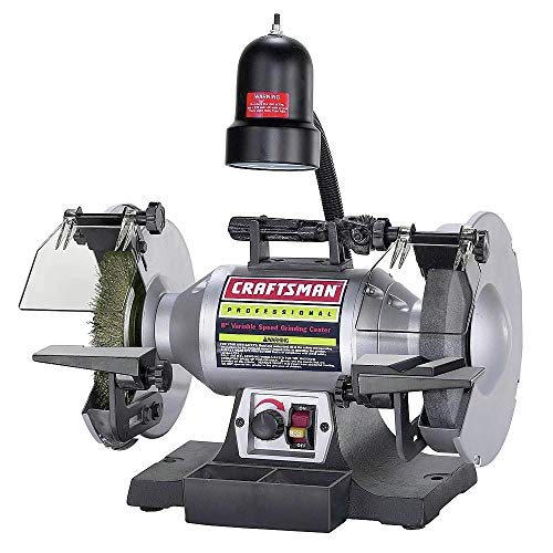 8 in. Professional Variable Speed Bench Grinder - Craftsman 921162