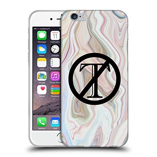 """Super Galaxy Coque de Protection TPU Silicone Case pour // Q04120555 Trompette dehors marbre vague // Apple iPhone 6 4.7"""""""