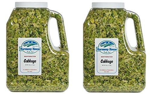 Harmony House Foods Dried Cabbage Flakes (48 ounce Gallon Size...