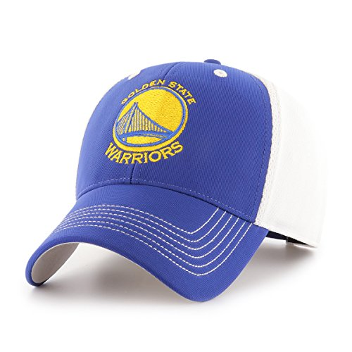 (NBA Golden State Warriors Sling OTS All-Star MVP Adjustable Hat, Royal, One Size, NA)