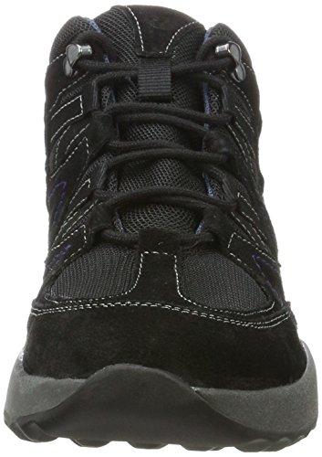 Negro Victoria 08 Mujer para Altas 100 Zapatillas 100 Romika Schwarz Aw7Rq