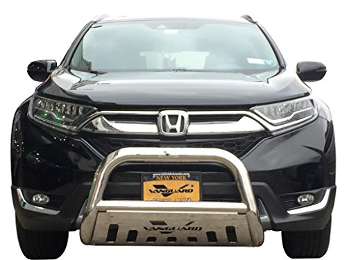 VANGUARD Off Road VGUBG-0883-1339SS For Honda CRV 2017-2018 Bumper Guard Stainless Steel Bull Bar with Skid Plate
