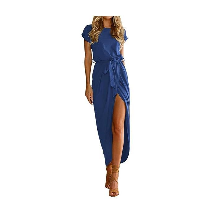 Amazon.com: cieken Mujer Verano Boho largo Maxi vestido de ...