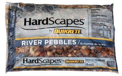 Quikrete River Pebbles Bag 0.5 Cu. Ft.