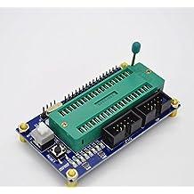 2 pcs lot ISP + JTAG programmer +8 water lamp avr microcontroller board atmega16 development board