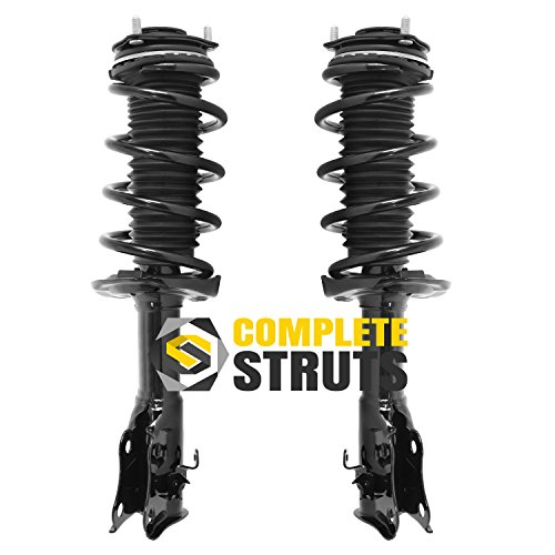 Front Quick Complete Struts & Coil Spring Assemblies Compatible with 2006-2011 Honda Civic Coupe (Pair) (Civic Honda Strut Front)