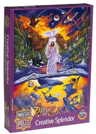 Creative Splendor 1000 Piece Puzzle by American Puzzles: Amazon.es ...