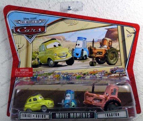 Cars Movie Moments Luigi, Guido & Tractor