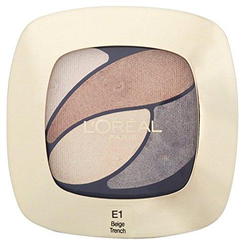 ロレアルパリカラーリッシュクワッド、1時代を超越したベージュ30グラム x4 - L'Oreal Paris Color Riche Quad, E1 Timeless Beige 30g (Pack of 4) [並行輸入品] B072HJ84GN
