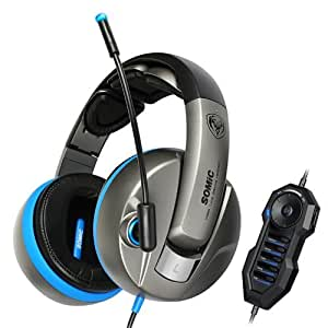 Somic G989HD 7.1 Surround Sound Gaming Headset USB With Microphone