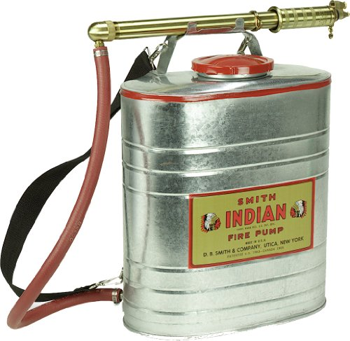 Indian 179014-1 Galvanized Fire Pump, 5-Gallon