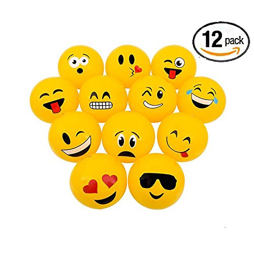 Emoji Party Inflatable Beach Balls product image