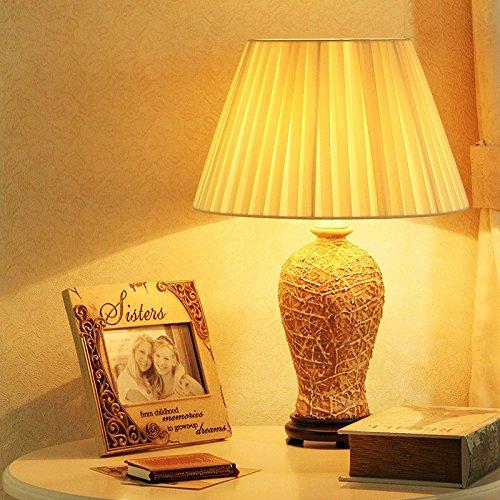 YFF@ILU amerikanischen chinesischen Südostasiatischen Tischleuchte Neue nachttischlampe Keramik chinesische Schlafzimmer neo-klassischen Ideen und alten Europäischen Lampe, ohne Licht