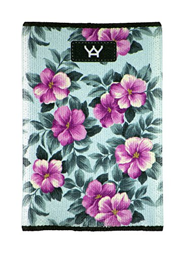 UPC 816834021032, YaYwallet Womens's Credit Card Holder, Minimalist Wallet, Pink Floral
