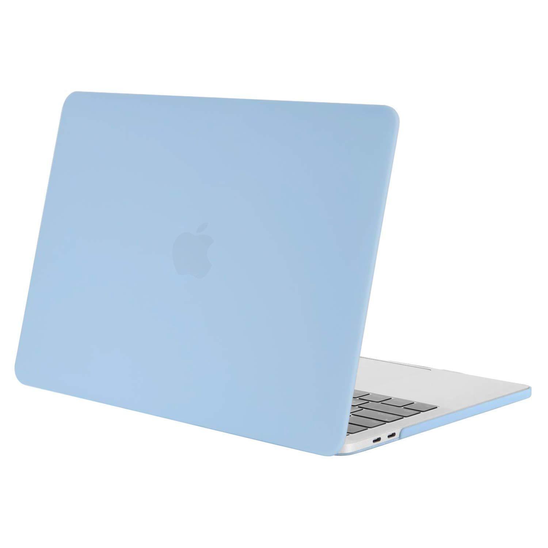 MOSISO Funda Dura Compatible 2018 2017 2016 MacBook Pro 13 con/sin Touch Bar A1989 A1706 A1708 USB-C, Ultra Delgado Carcasa Rígida Protector de ...