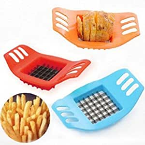 1pcs, French Fry Cutters Multi-function Shredder Manual Potato Slicer Cutter