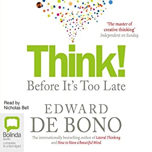 Think!: Before It's Too Late Audiobook