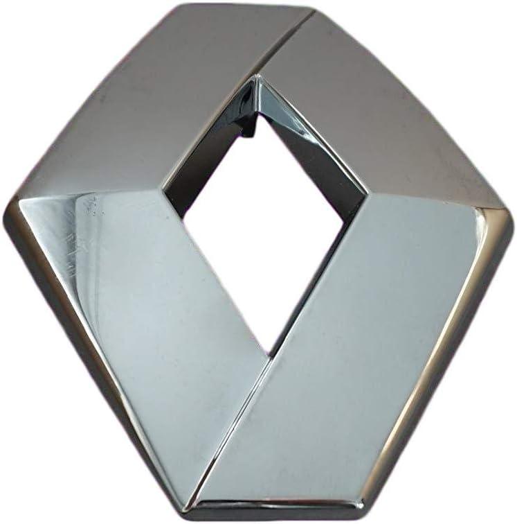 FFTH Logo-Emblem f/ür Renault Clio MK4 ab 2012 Captur ab 2013 passend f/ür OEM # 908890837R