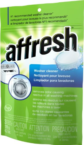Whirlpool Affresh Efficiency Washer Cleaner