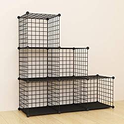 related image of SIMPDIY Storage Cubes with Metal Wire Mesh