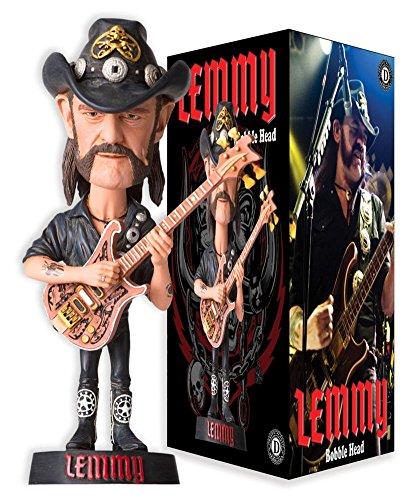 UPC 855971005741, Lemmy Kilmister Bobble Head Novelty 3 x 7in