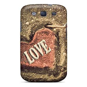 (hCksIRC3091EGuUt)durable Protection Case Cover For Galaxy S3(love)