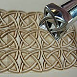 Stainless Steel Barry King - #3 Celtic Box Geometric Stamp (Leather Stamping Tool)