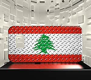 Funda Carcasa para Galaxy S6 Edge Bandera LÍBANO 05