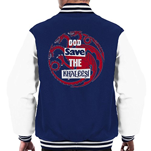 Men's Varsity Navy Thrones Save white Game Of Jacket God A1wSUxHqnA