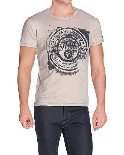 Pepe Jeans - Men's T-Shirts Clifford - Beige, XXL (Pepe Jeans Brillen)