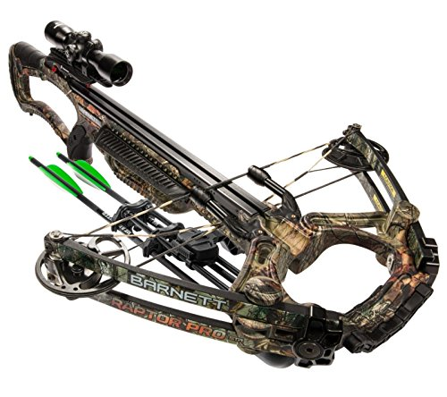 Barnett Raptor Pro str Crossbow Realtree Camo BAR78005, One Size