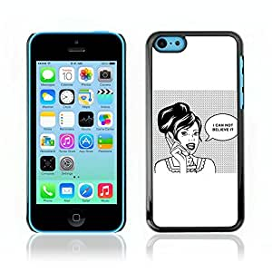 Carcasa Funda Case // V0000638 Retro Pop Art Gossip Girl // Apple Iphone 5C
