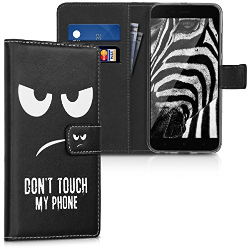 Wallet Flip Leather Case Cover For Xiaomi Mi Note (White) - 3