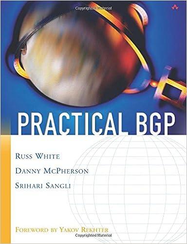 Practical Bgp Russ White Pdf