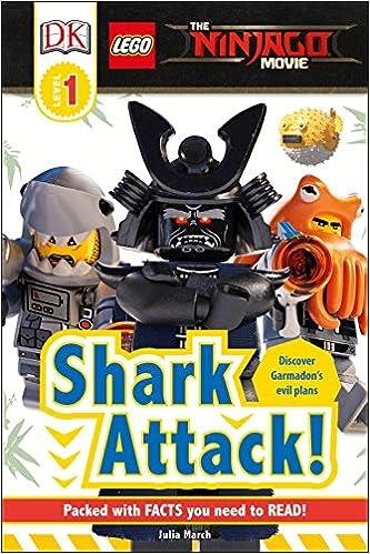 Amazon.com: DK Readers L1: The LEGO® NINJAGO® MOVIE : Shark Attack ...