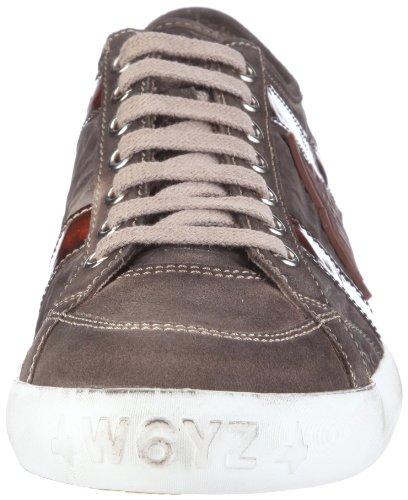 Wyzz Skater Laces 2004726 - Zapatillas de deporte de ante para hombre Gris (Grau (ANTRACITE-NERO))