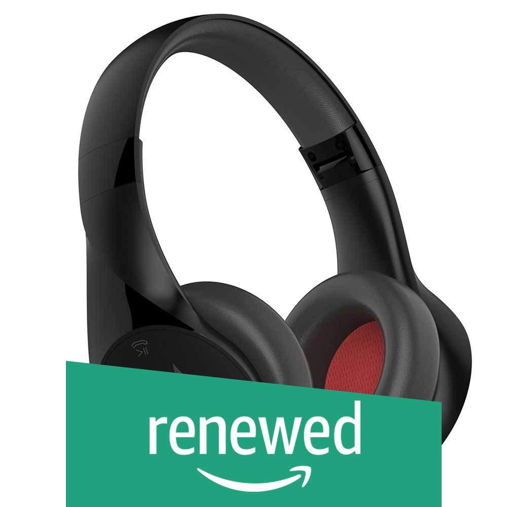 Motorola MT-SH012-BK Pulse Escape Wireless Over-Ear Headphones - Black (Renewed)