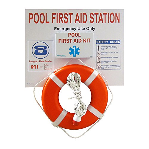 Pool First Aid Station (Orange Buoy)