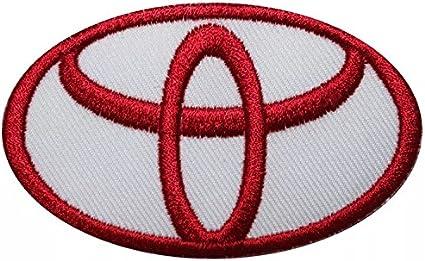Patch Toyota Logo Patch Aufnäher Aufbügler Bestickt Cm 6 8 X 5 5 Replica Küche Haushalt