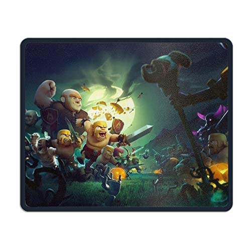 Holiday Halloween Clash of Clans Printed Mousepad Non