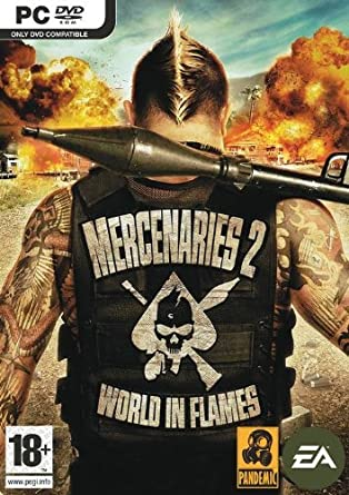 Mercenaries 2 world in flames pc dvd amazon pc video games mercenaries 2 world in flames pc dvd altavistaventures