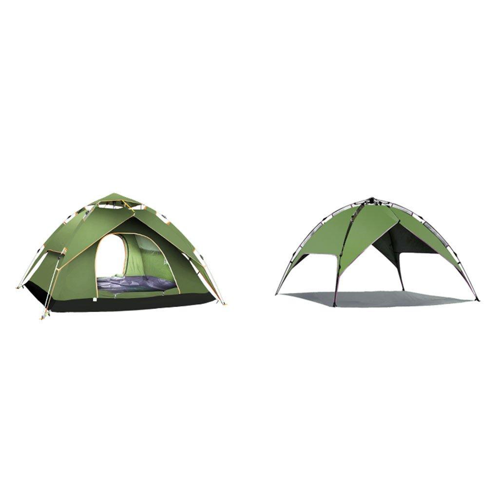 テント、自動屋外2人3-4人厚い防雨フィールド屋外キャンプ ( 色 : 2 , サイズ さいず : 3 )   B07CNXCTHT