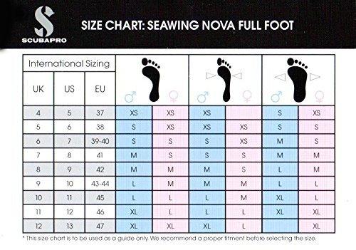 d8749be2ba29ee Amazon.com : ScubaPro Seawing Nova Full Foot Fins : Sports & Outdoors