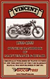 Vincent 1935-1955 Owner's Handbook of Maintenance and Repair, F. Clymer and P. Richardson, 1588500721